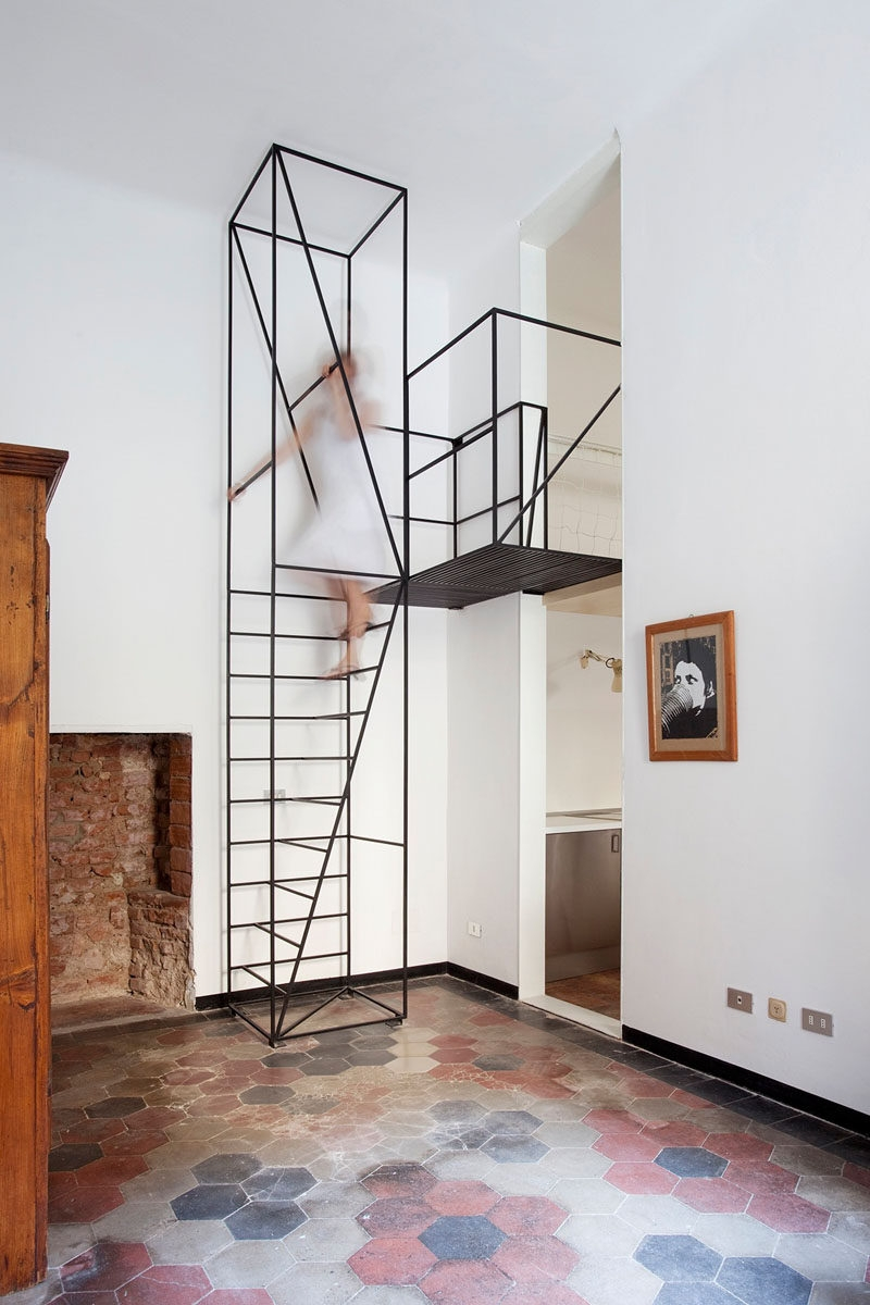 13 Stair Design Ideas For Small Spaces | Unique Stairs For Small Spaces | Mini | Small Area | Ladder | Stairway | Loft