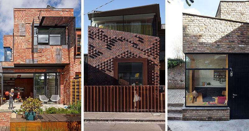 14 Modern Houses Made Of Brick