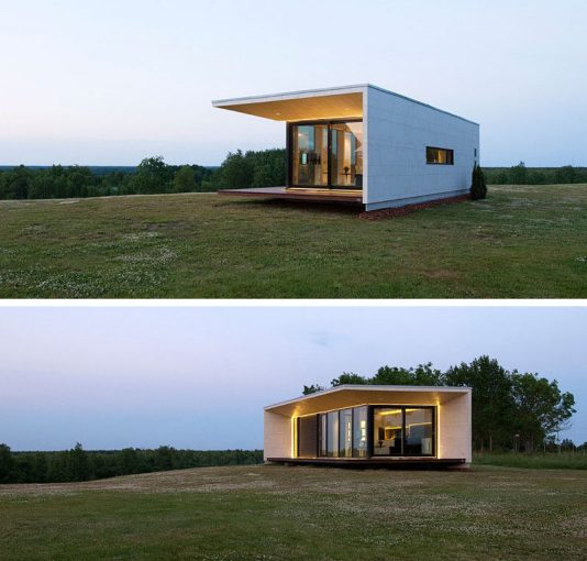 11 Small Modern House Designs From Around The World   CONTEMPORIST 11 Small Modern House Designs    This small single level home features a  modern design