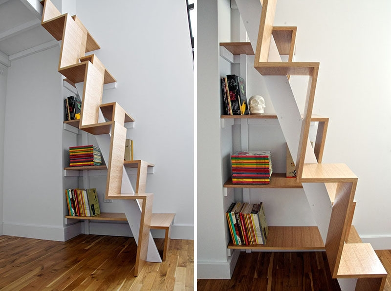 13 Stair Design Ideas For Small Spaces | Staircase For Small Area | Beautiful | Spiral | Compact | Low Cost | Living Room