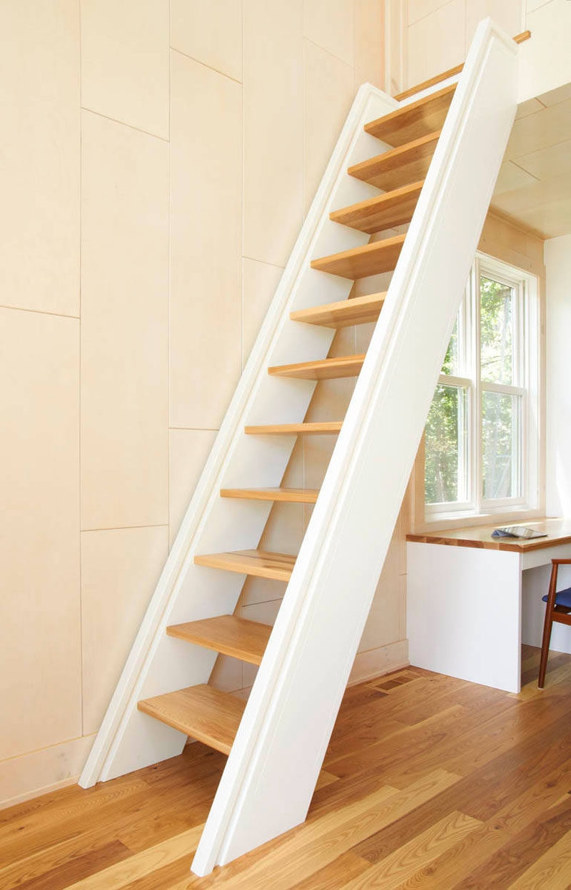 13 Stair Design Ideas For Small Spaces | Small House Ladder Design | Low Cost | Small Residence | Middle Class Duplex House | Small Living Room Stair | Simple