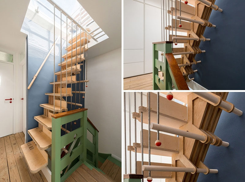 13 Stair Design Ideas For Small Spaces   Ladder Design For Small Space   Stairway   Glass   Modern   Two Story House Stair   Limited Space
