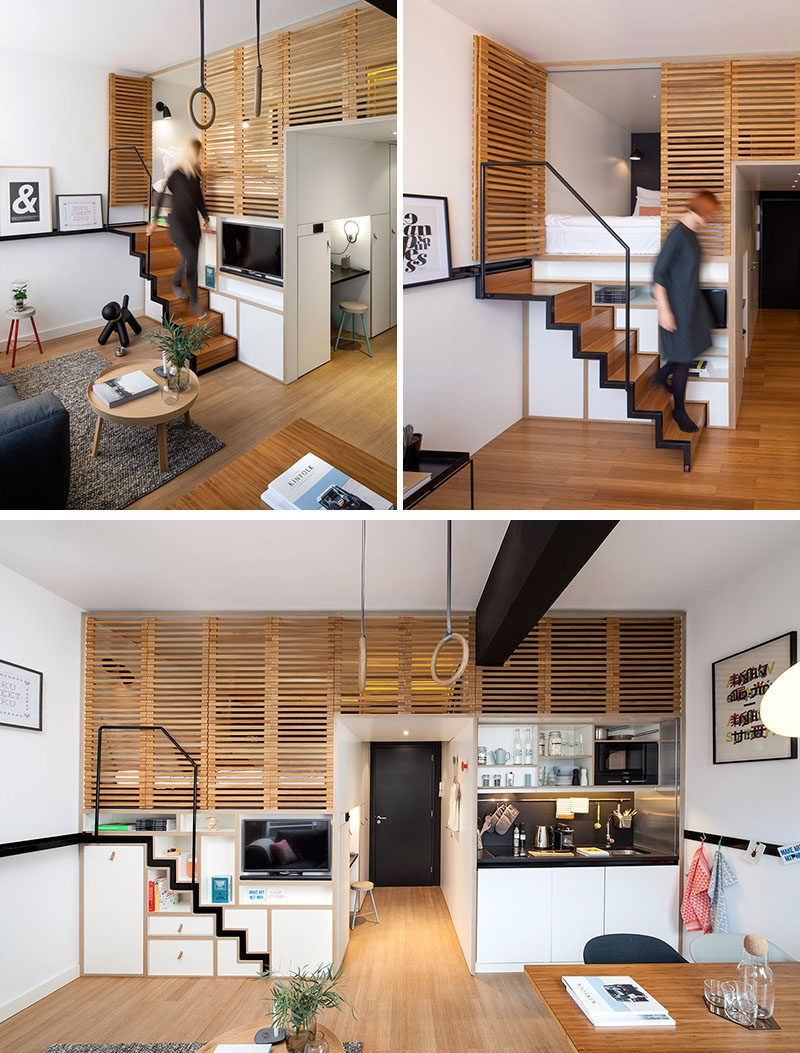 13 Stair Design Ideas For Small Spaces Contemporist | Stairs For House Design