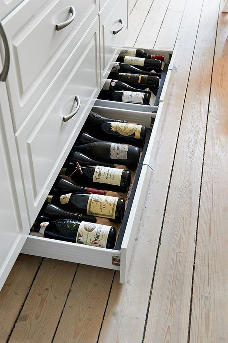 Kitchen Design Idea Include Toe Kick Drawers In Your
