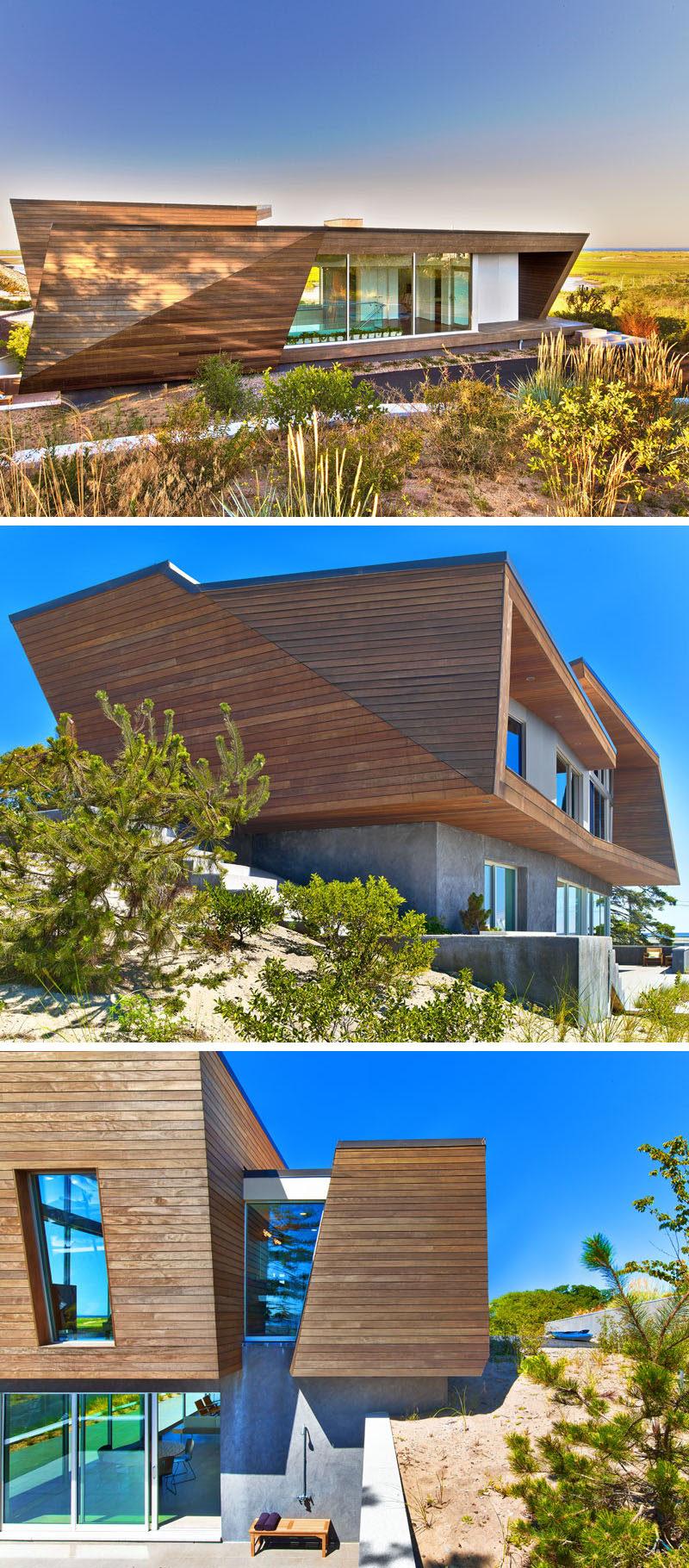 A Modern Beach House Arrives In Cape Cod Massachusetts