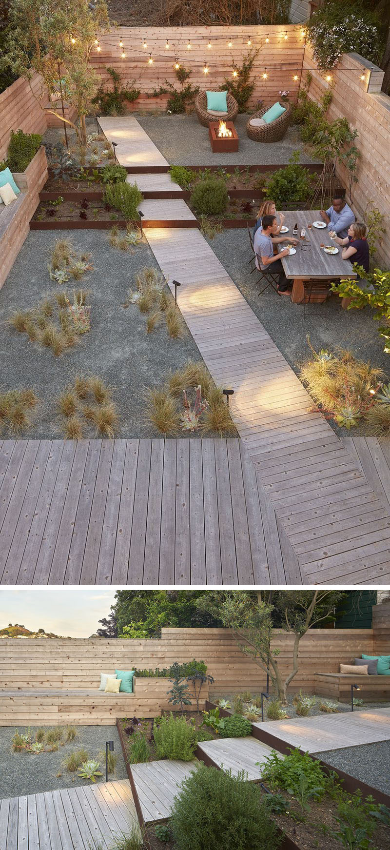 Landscaping Design Ideas - 11 Backyards Designed For ... on Small Backyard Entertainment Area Ideas id=62632