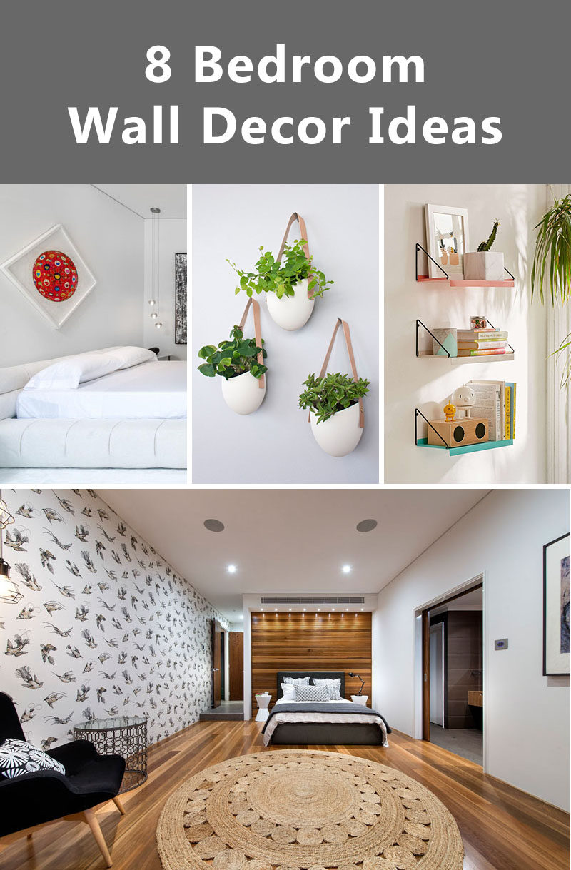 8 Bedroom Wall Decor Ideas To Liven Up Your Boring Walls ... on Bedroom Wall Decor  id=88540