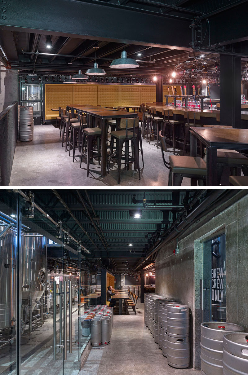 This Restaurant And Brewery Is Full Of Industrial Touches CONTEMPORIST