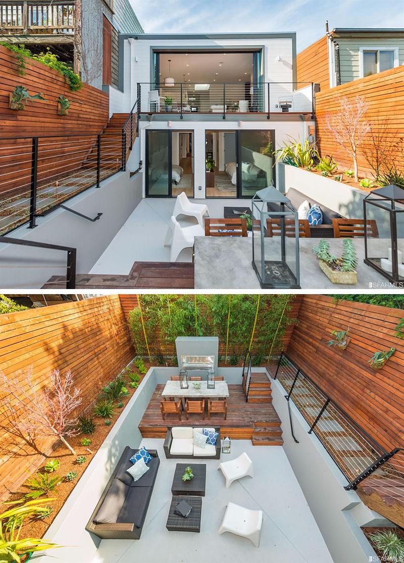 Backyard Design Idea - Use Multiple Levels To Define ... on Backyard Yard Design  id=20721