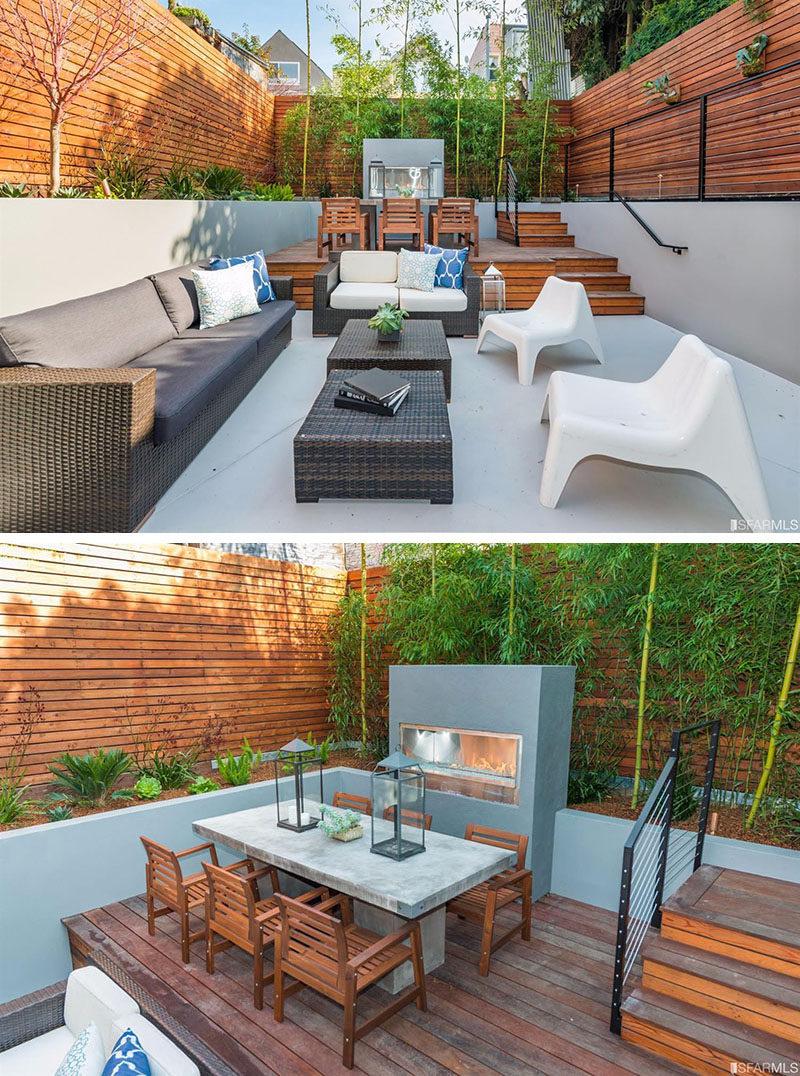 Backyard Design Idea - Use Multiple Levels To Define ... on Backyard Lounge Area Ideas id=83826
