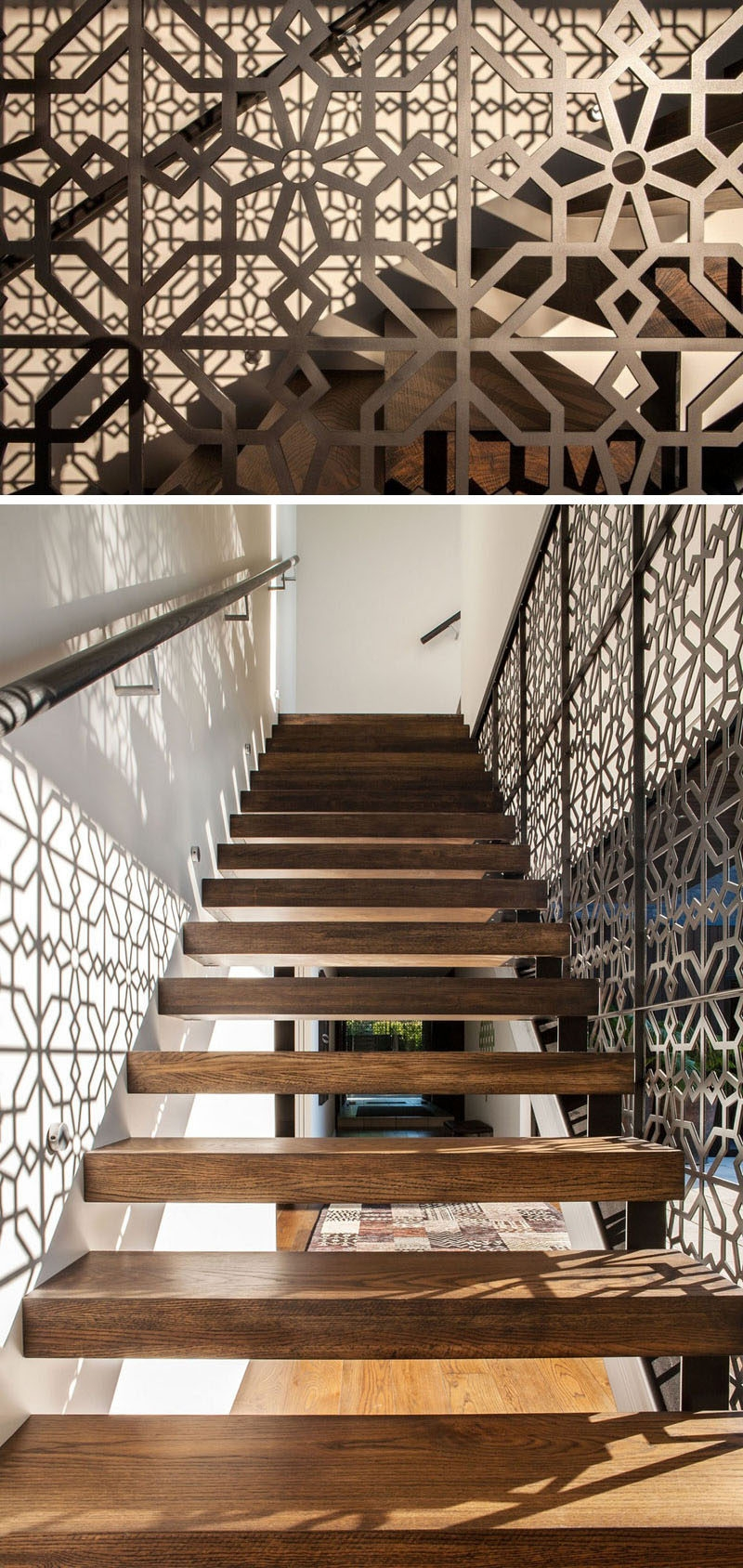 11 Creative Stair Railings That Are A Focal Point In These   Modern Banisters And Railings