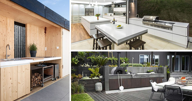 7 Outdoor Kitchen Design Ideas For Awesome Backyard ... on Backyard Kitchen Design id=26256