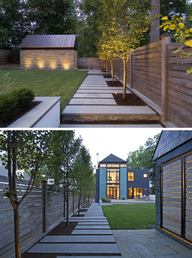14 Modern Walkways And Paths That Are Creative And Functional on Side Yard Walkway Ideas  id=95942