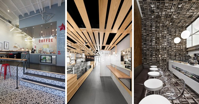 These modern coffee shops are unique in design, making them standout from other coffee shops.