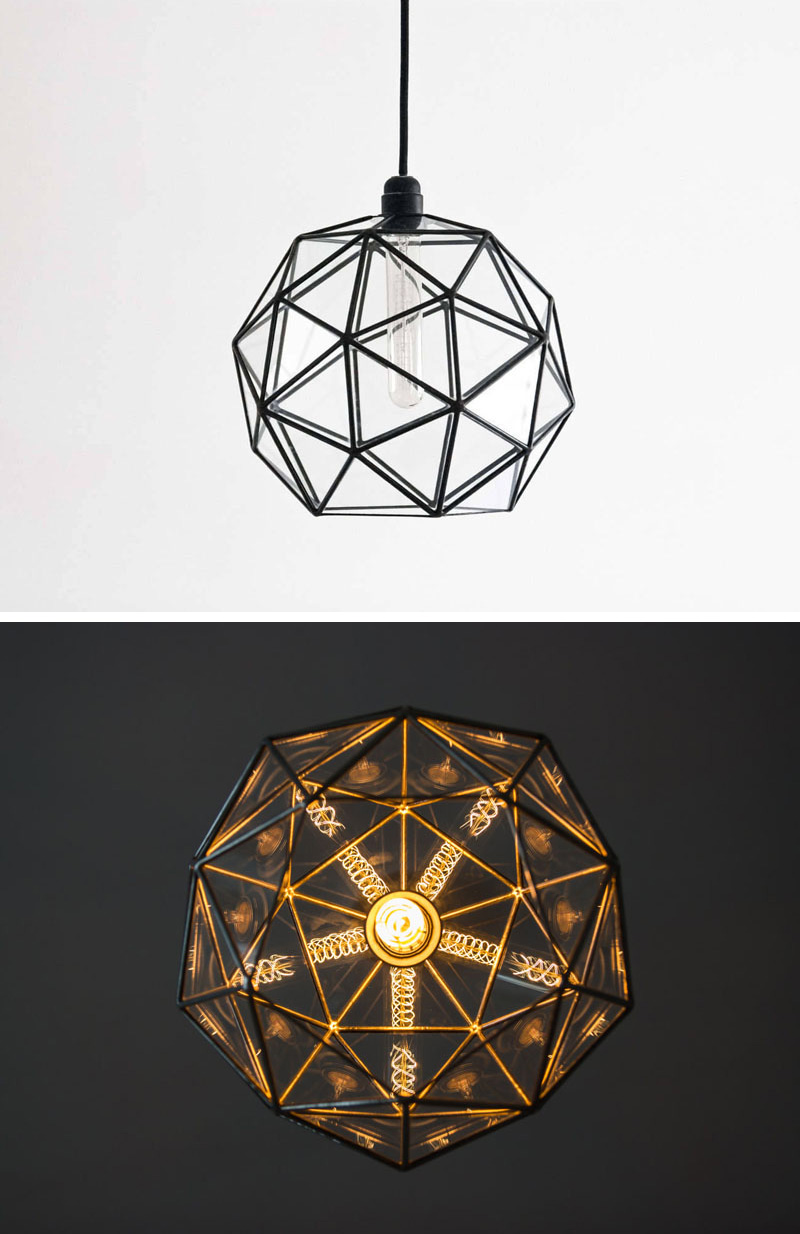 These Delicate And Handmade Pendant Lights Offer A Geometric Shadow CONTEMPORIST