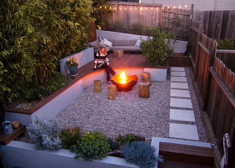 This Small Backyard In San Francisco Was Designed For ... on Small Backyard Entertainment Area Ideas id=91697