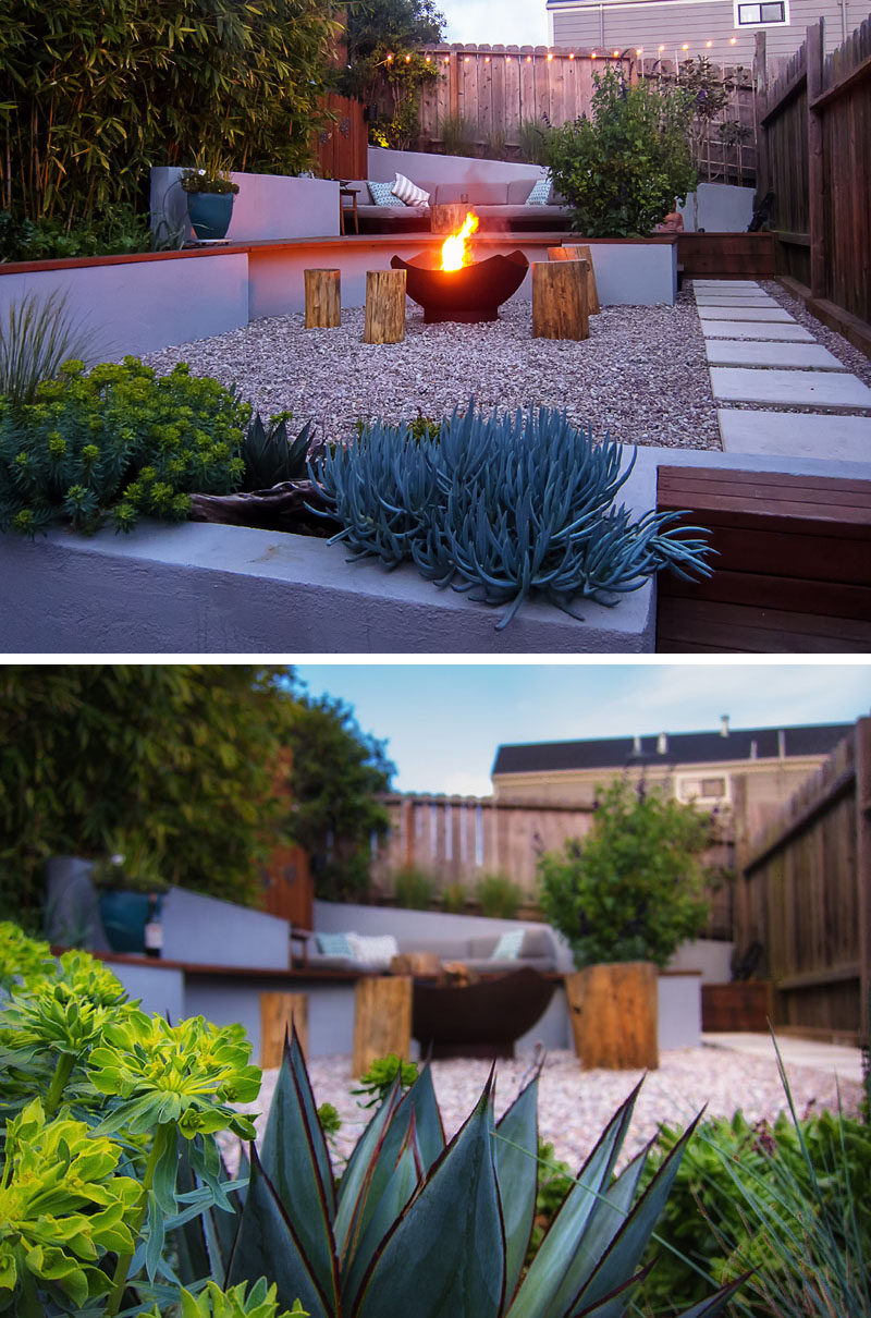 This Small Backyard In San Francisco Was Designed For ... on Modern Landscaping Ideas For Small Backyards  id=45838