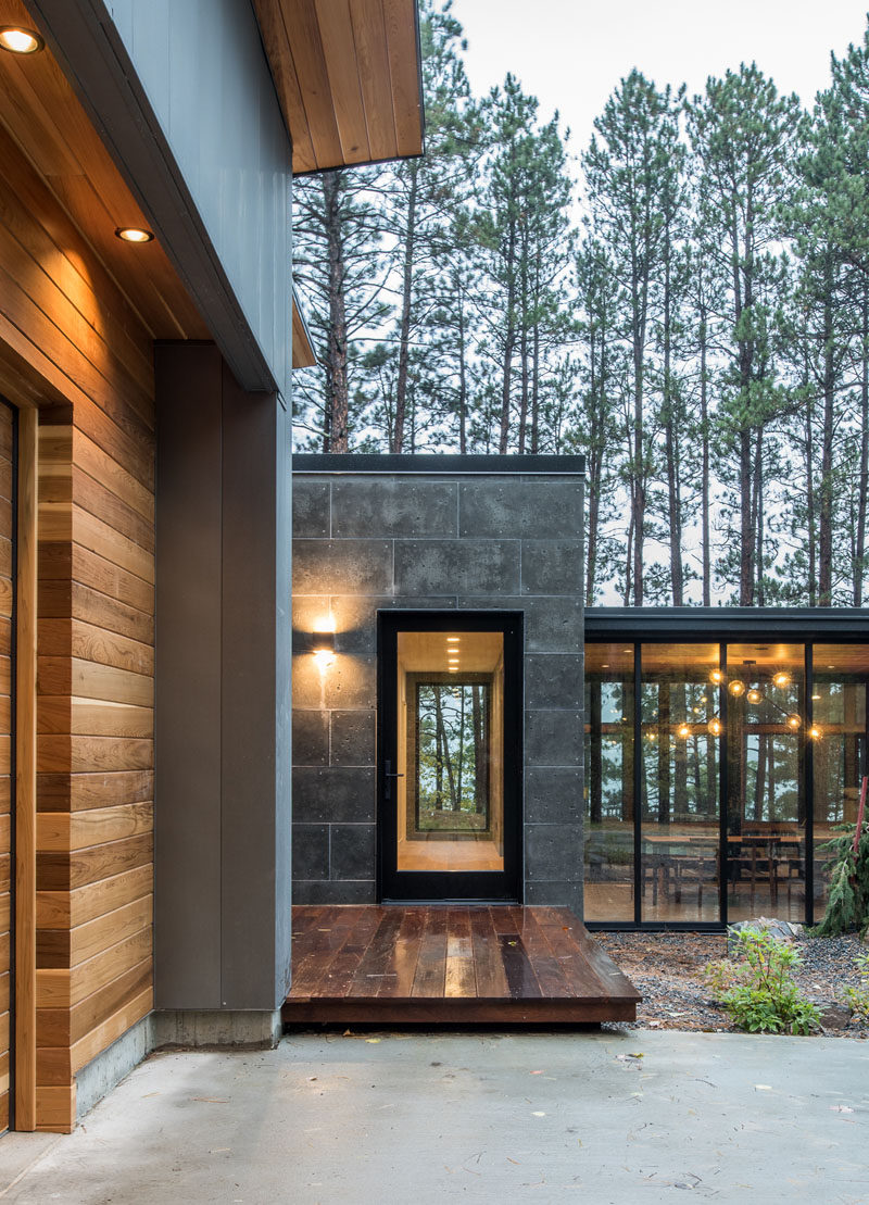 Northern Minnesota Lake House By Strand Design on Modern Glass Houses  id=98474