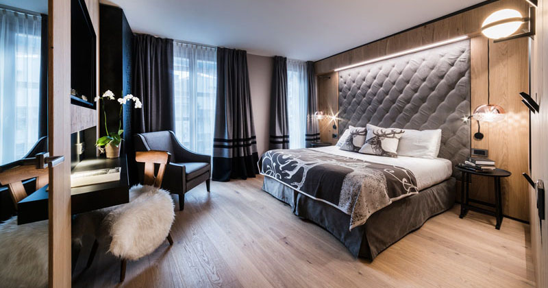 Bedroom Design Idea - This Hotel Has The Headboards Built ... on Teenage:m5Lo5Qnshca= Room Ideas  id=85071