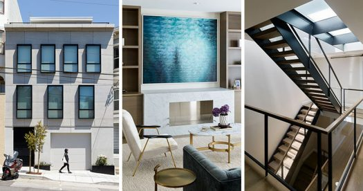Feldman Architecture has completed the remodel of a house inthe heart of Noe Valley, a neighborhood of San Francisco, that was oncea jumbled floor plan full of awkward, dark, and narrow spaces. #Architecture #InteriorDesign