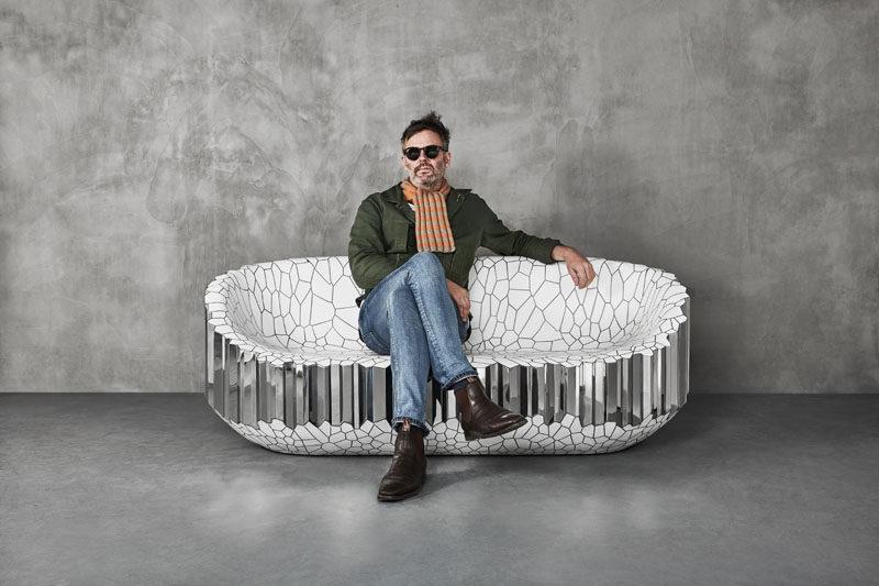 British designer Michael Young has created his his latest work, the MY Collection, that was commissioned by Gallery ALL of Los Angeles and Beijing, and will be exhibited for the first time at Design Miami/Basel 2019. #ModernFurniture #FurnitureDesign #SculpturalFurniture #Design