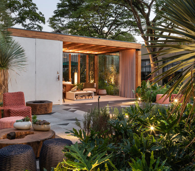 Lucas Takaoka Has Designed An Outdoor Living Area For ... on Designer Outdoor Living  id=76933