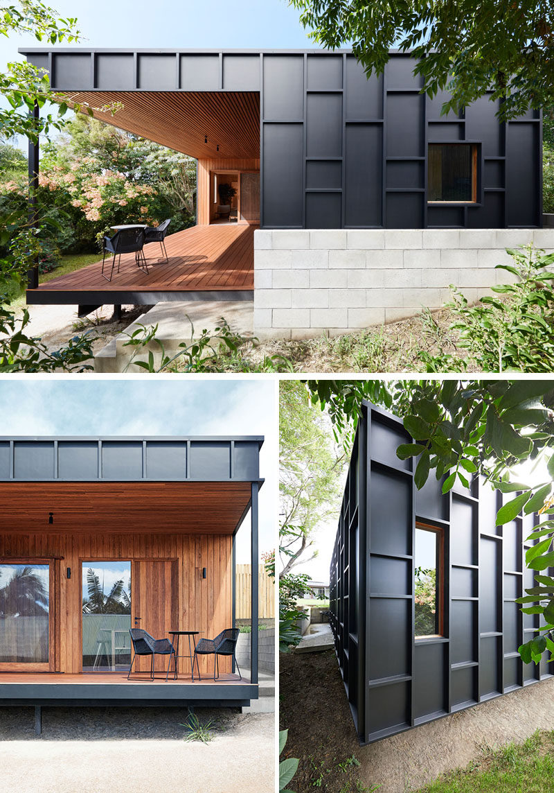 House Siding Ideas - This Modern House Was Clad In Black ... on Modern House Siding  id=27294
