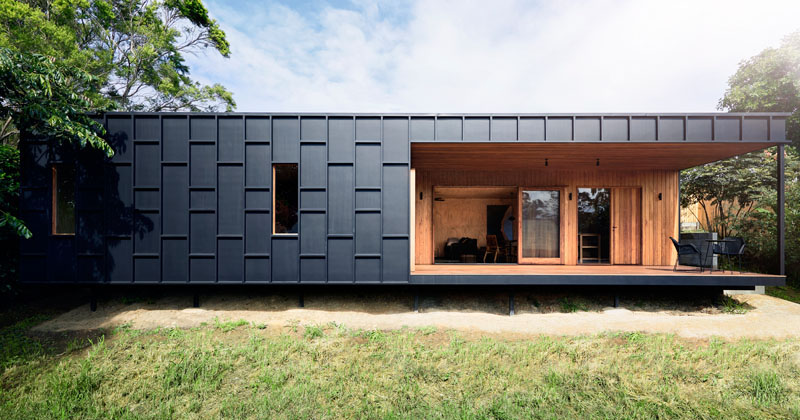 House Siding Ideas - This Modern House Was Clad In Black ... on Modern House Siding Ideas  id=12667