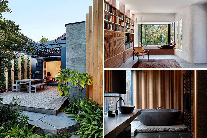 Locally Sourced Wood Was Used In This House Interior To ... on Interior:ybeqvfpgwcq= Modern House  id=33228