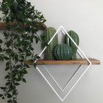 Wall Decor Ideas Geometric Wall Shelves By Village Craft Co