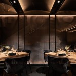 Extensive Use Of Hidden Lighting Gives This Restaurant A Warm Glow