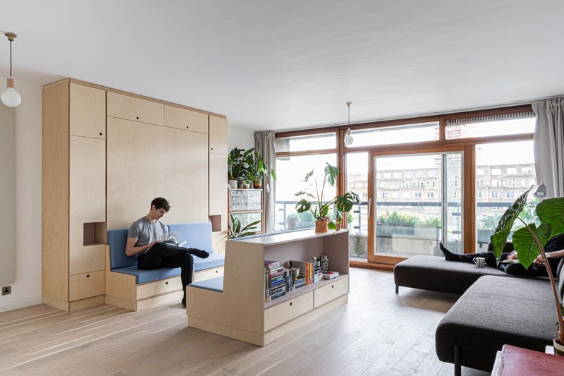 Multi-Functional Furniture Makes This Small Apartment A Livable