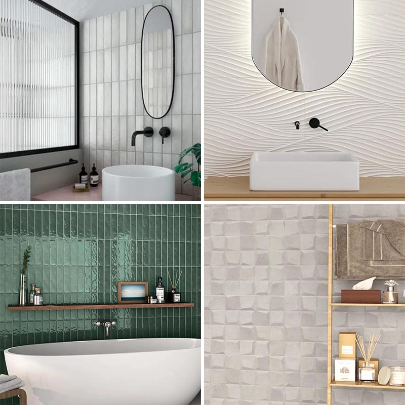 wall tile designs from bedrosians tile