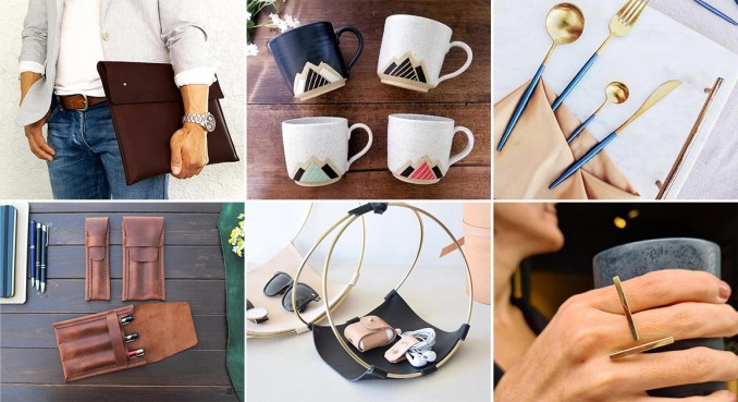 Modern gift ideas - homewares, bags, stationery, jewelery, kitchenware, art, and puzzles.