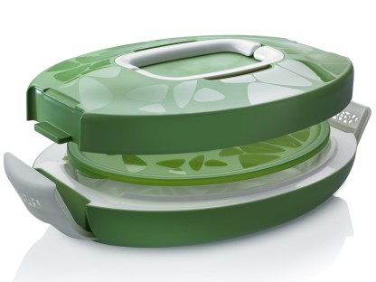 chef carrier ovale verde