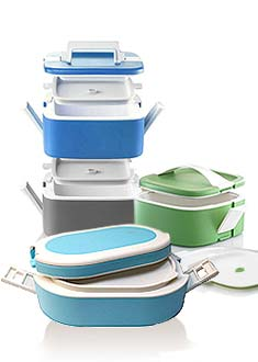Stackable lunch box