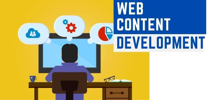 Website content developmet services by content writing company