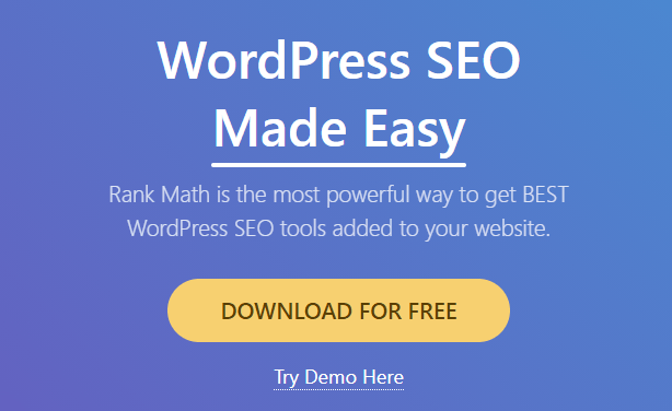 rankmath for seo content writers