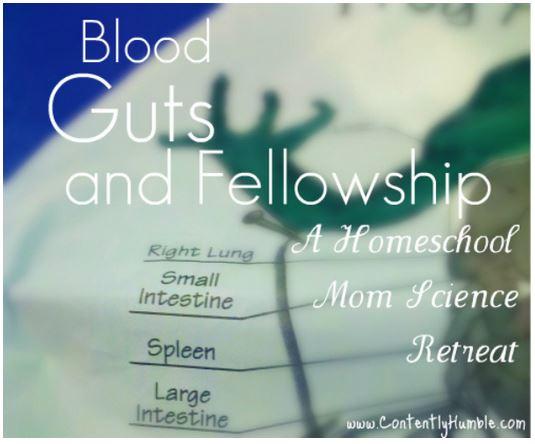 Blood Guts and Fellowship: A Homeschool Mom Science Retreat