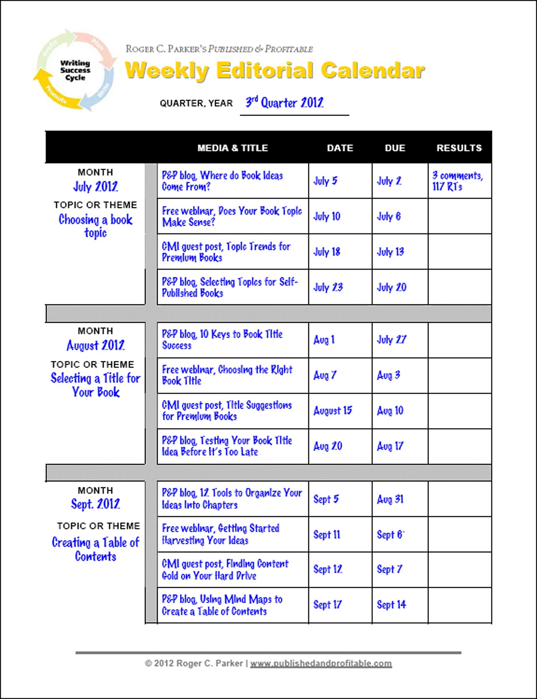 Meeting Scheduling Worksheet