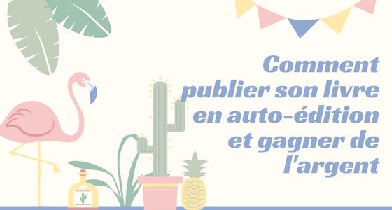 ffc10905661 Comment publier un livre en auto-édition et gagner de l argent