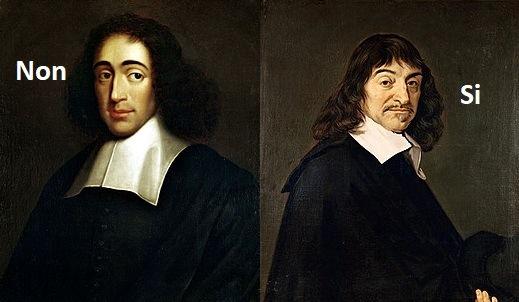 Spinoza Descartes libre-arbitre