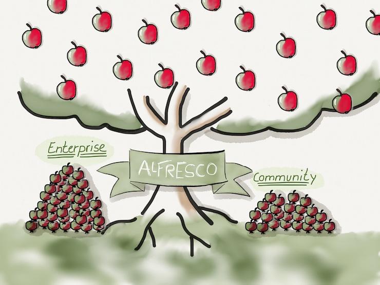 Alfresco Community vs Enterprise