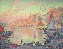 Paul Signac's The Port Of St. Tropez