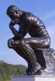 Rodin the thinker