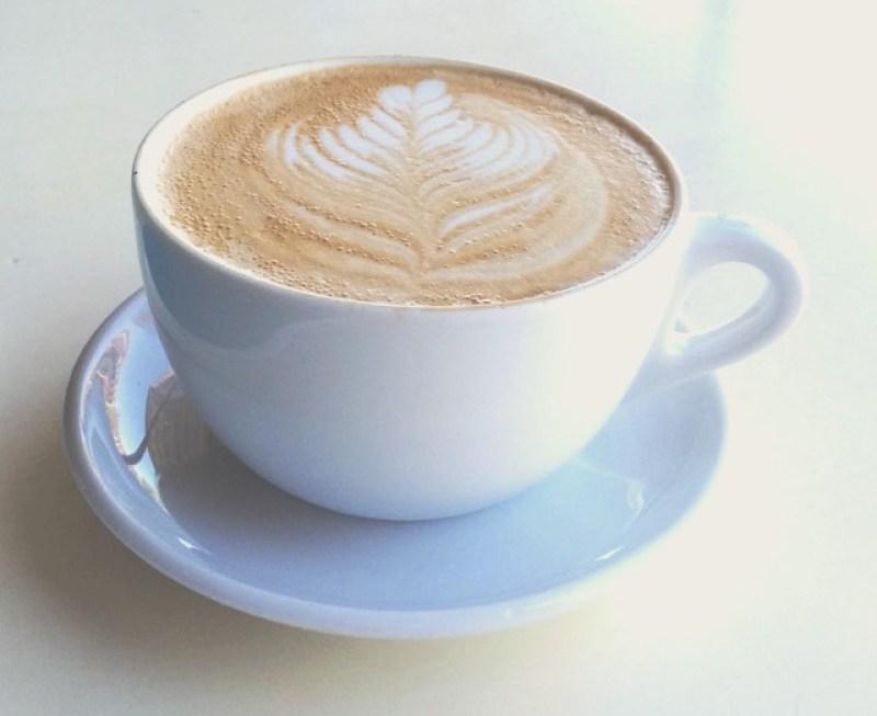 Pretty coffee latte art