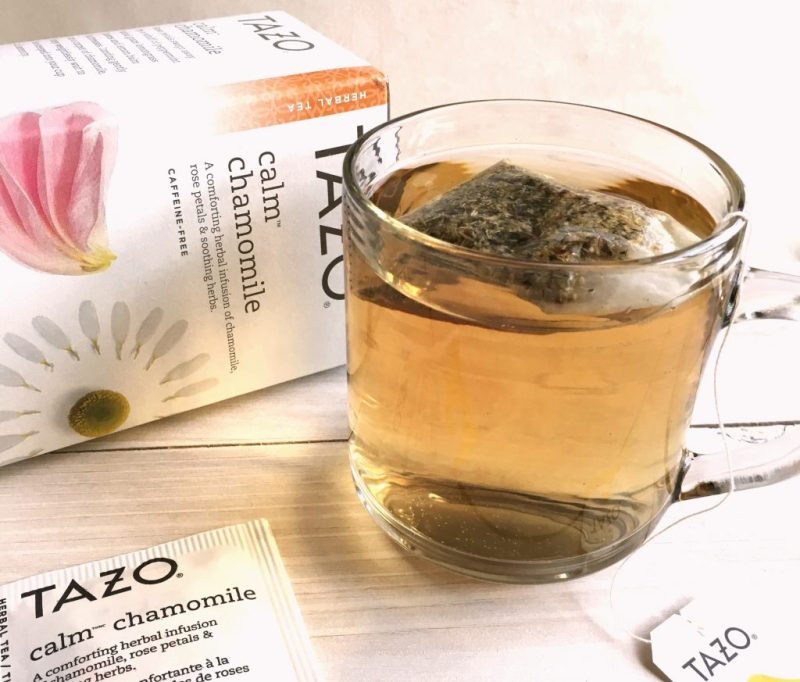 Tazo Calm Chamomile Tea Bags for Relaxation Gifts