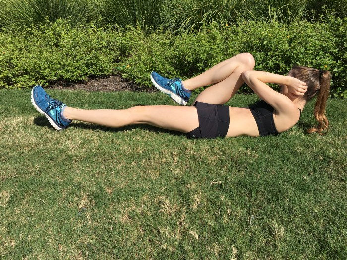 Ab Workout Bicycles Right Side