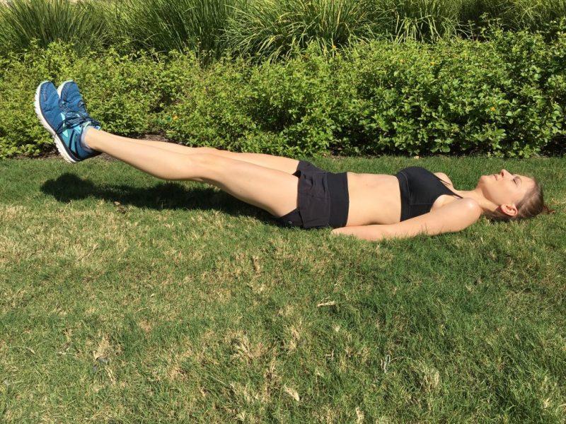 Ab Workout Leg Lifts