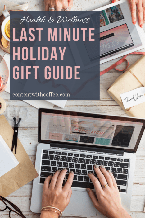 Holiday gift guide last minute